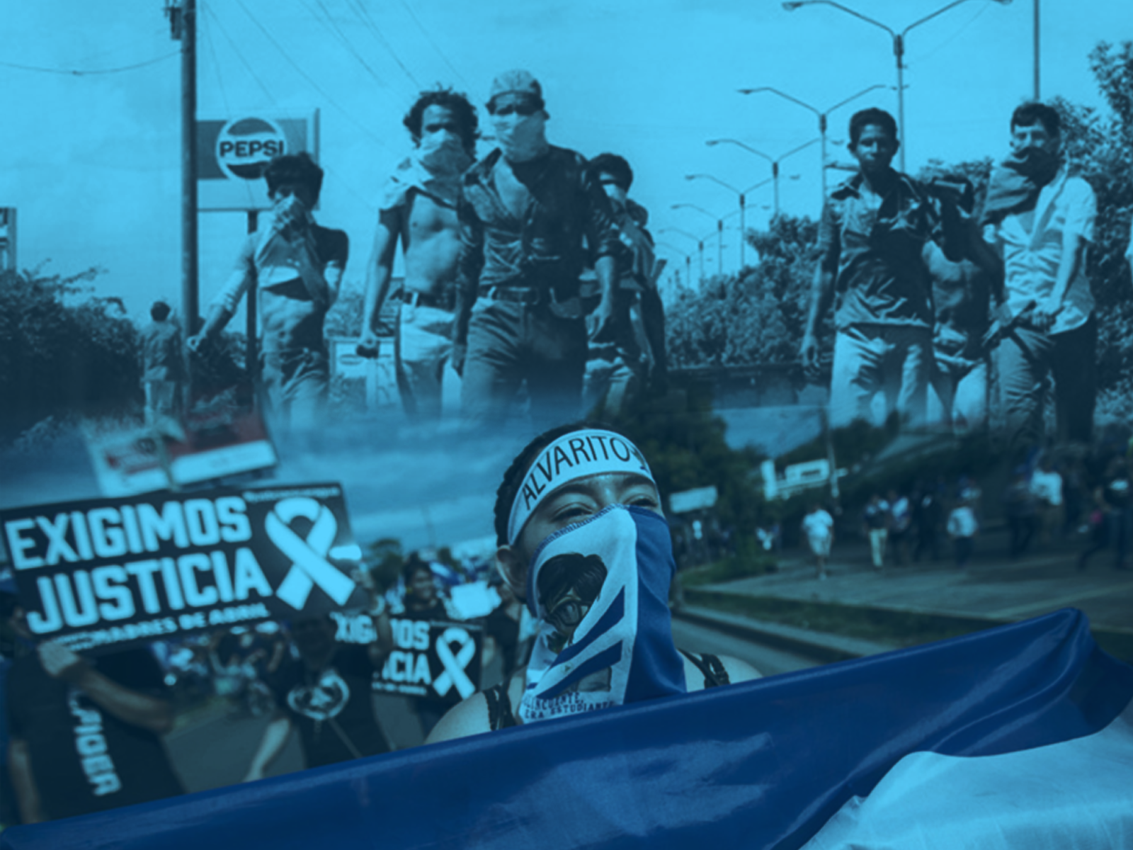 From the streets we accuse the regime Ortega-Murillo